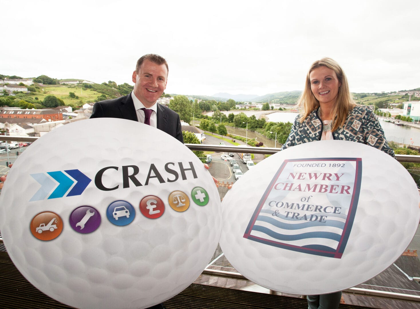 CRASH Services to sponsor Newry Chamber of Commerce & Trade Golf Classic
