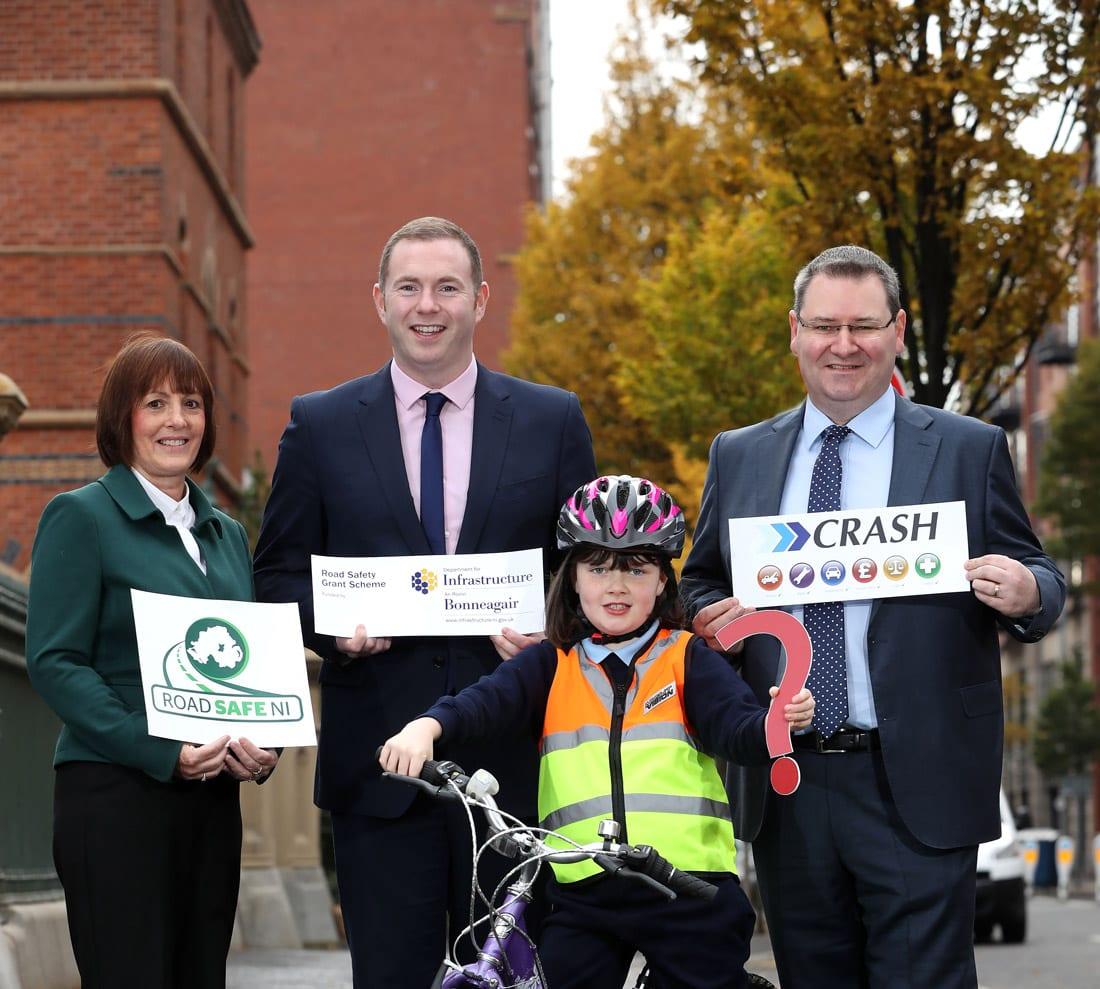 CRASH Services sponsor NI Primary School Road Safety Quiz 2017