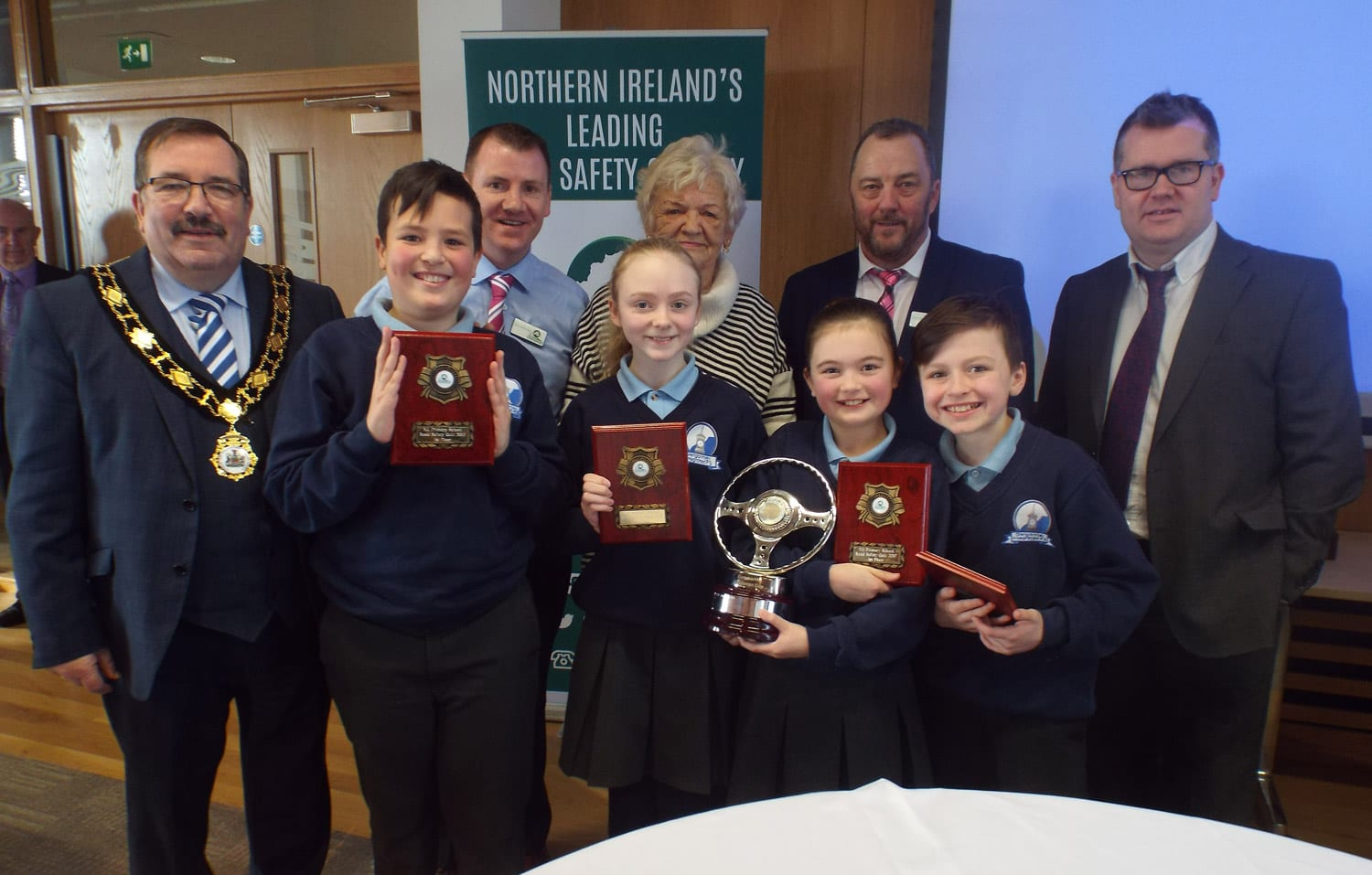 Antrim and Newtownabbey area schools qualify for NI Road Safety Quiz Final