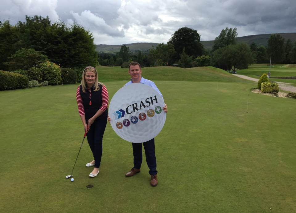 Newry Chamber of Commerce launches its annual Golf Classic sponsored by CRASH Services