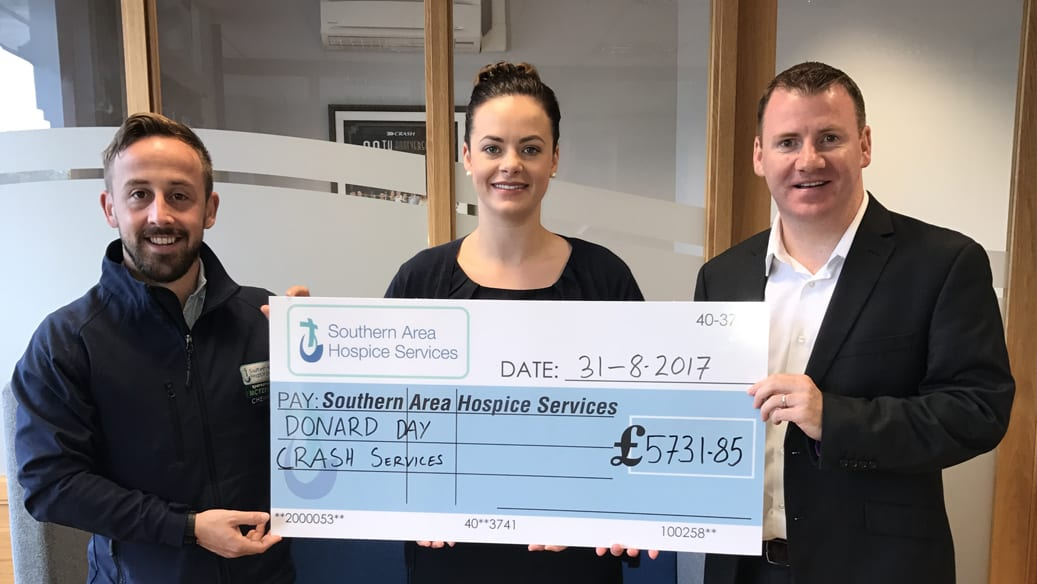 Donard Day raises over £5k for Southern Area Hospice