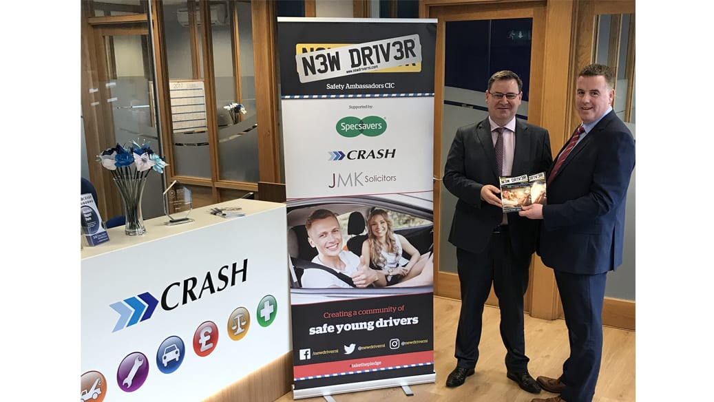 CRASH sponsor New Driver NI Sixth Form Programme for 3rd year