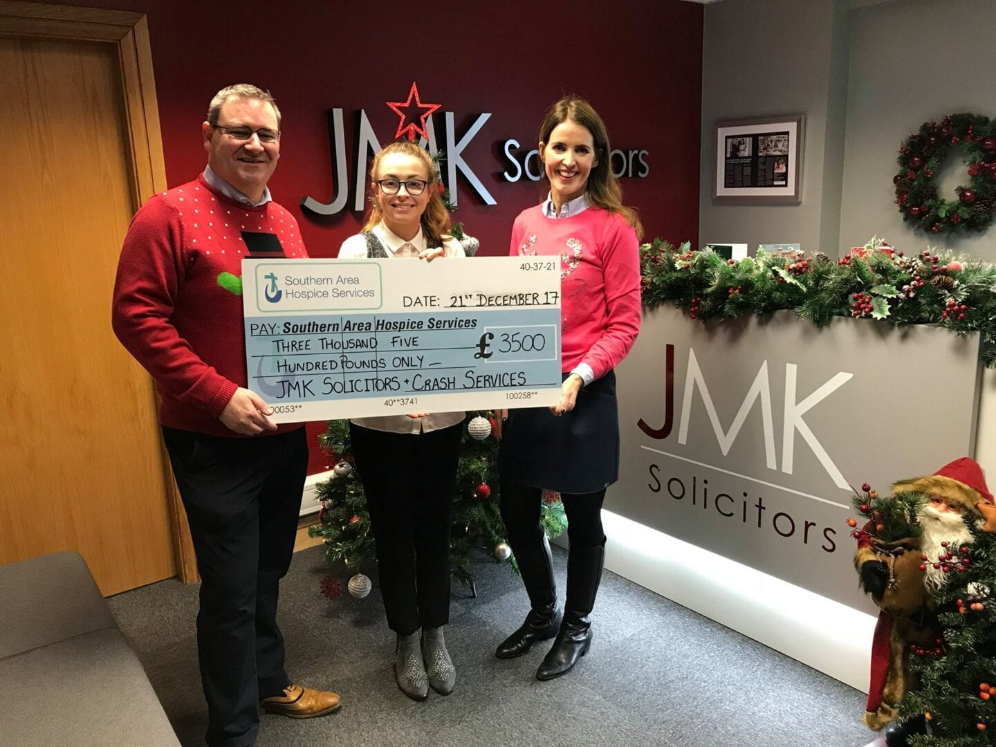 CRASH raise £3.5k for local charities